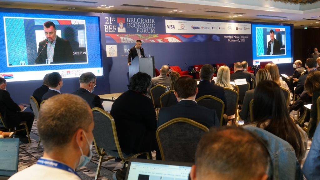 FIC at the 21 Belgrade Economic Forum